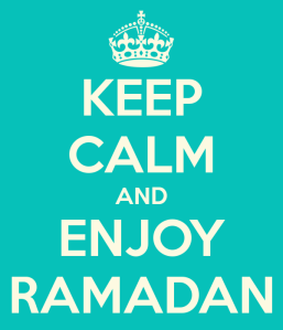 Enjoy Ramadhan